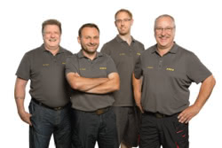 Teamaufnahme KVN Kommunaltechnik Vertrieb Nordbayern GmbH