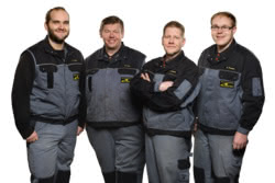 Teamaufnahme Land- & Gartentechnik Tietz e.K.