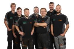 Teamaufnahme Klaus Jung Motorgeräte GmbH