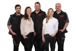 Teamaufnahme Müller Professional Store