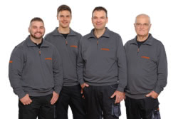Teamaufnahme Stropek Motortechnik
