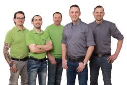 Teamaufnahme Stahl + Steininger GmbH & Co. KG