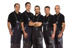 Teamaufnahme Claus & Mathes GmbH