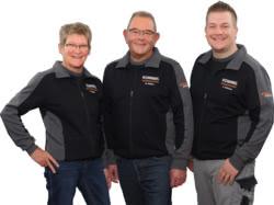 Teamaufnahme Rommel Kundendienstwerkstatt