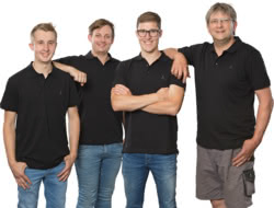 Teamaufnahme Fritz Hüttinger GmbH & Co.