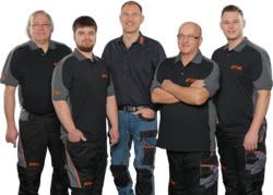 Teamaufnahme Hans Motorgeräte GmbH