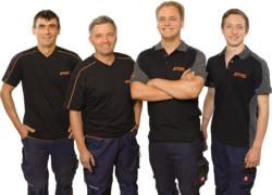 Teamaufnahme SERVICE CENTER Wolfgang Auer