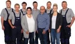 Teamaufnahme GLAS KFZ-Meisterbetrieb, Forst- u. Gartengeräte
