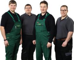 Teamaufnahme Max Lorenz KG Landtechnik - Gartengeräte - Baumaschinen