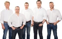 Teamaufnahme Friedr. E. Barthels Nachf.