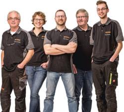Teamaufnahme Rolf Birkoben GmbH & Co. KG