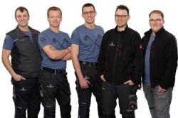 Teamaufnahme Hans Metrich GmbH Land- und Gartentechnik