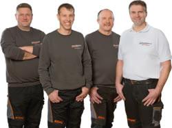 Teamaufnahme Schwedhelm Motorgeräte