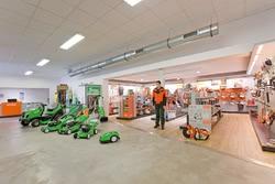 Innenansicht RÜDE Bau- und Industriebedarf GmbH