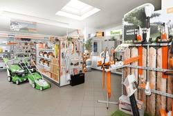 Innenansicht Haller Forst- und Gartentechnik