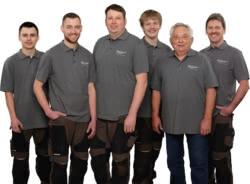 Teamaufnahme Zieger-Technik für Feld und Garten GmbH