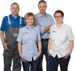Teamaufnahme Raiffeisen Handelsgenossenschaft eG Kamenz