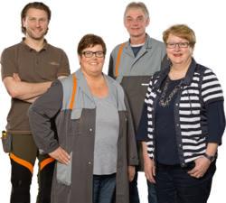 Teamaufnahme Motorgerätehaus Krauß GmbH & Co. KG