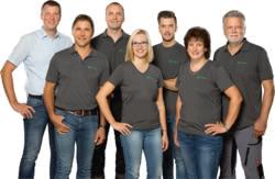 Teamaufnahme Raiffeisen-Fachmarkt
