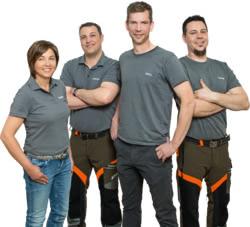 Teamaufnahme Laubmeier Motorgeräte