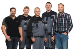 Teamaufnahme Glockzin Visselhövede GmbH