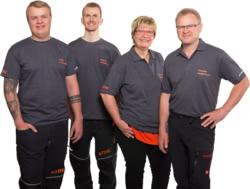Teamaufnahme Thomas Hodermann Stihl-Dienst