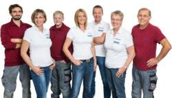 Teamaufnahme Land-, Forst- und Gartengeräte