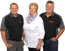 Teamaufnahme Hans Schmid Landtechnik-Motorgeräte